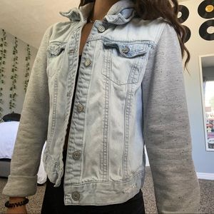 Light washed jean jacket